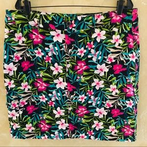 CJ Banks Floral Skirt